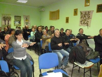Monspart Sarolta előadása végén megmozgatta a közönséget