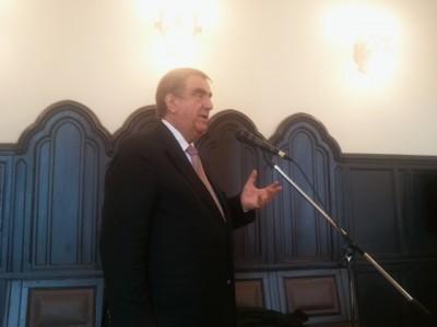 Dr. Klinghammer István egyetemi tanár, államtitkár előadása a felsőoktatás átalakításáról